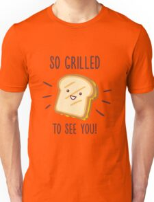 Cheesy Greetings! Unisex T-Shirt