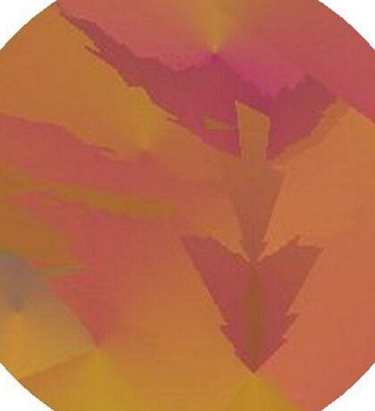 Purple Arrows Sky Sticker