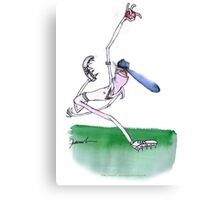 England Cricket bowler - tony fernandes Canvas Print