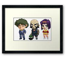 SPike, Jet and Faye Valentine Framed Print