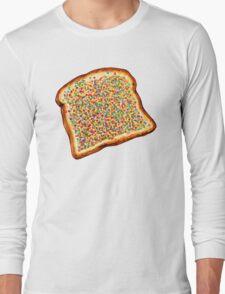 Fairy Bread Pattern Long Sleeve T-Shirt