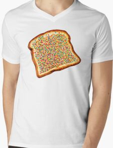 Fairy Bread Pattern Mens V-Neck T-Shirt
