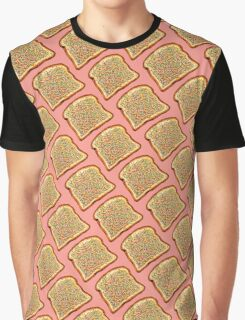Fairy Bread Pattern Graphic T-Shirt