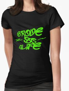 Grove St 4 life Womens Fitted T-Shirt