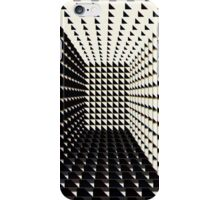 Tunnel in Black and White - phone case iPhone Case/Skin
