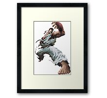 Fight Ryu Framed Print