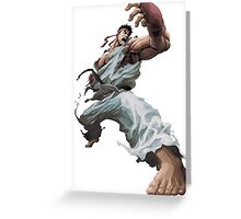 Fight Ryu Greeting Card