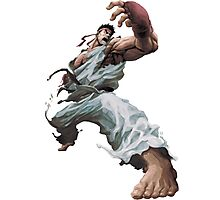 Fight Ryu Photographic Print