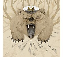 Bear Captain Photographic Print