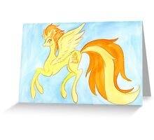 Spitfire Greeting Card