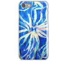 """Multi Layered Abstract """"Blue Illusion""""  iPhone Case/Skin"""