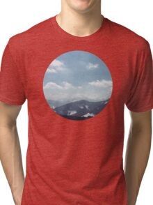 The Alps 1 Tri-blend T-Shirt