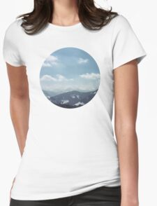The Alps 1 Womens Fitted T-Shirt