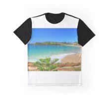 Beach at Bermagui Graphic T-Shirt
