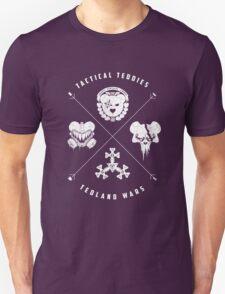 Tedland Wars Tee (White Print) T-Shirt