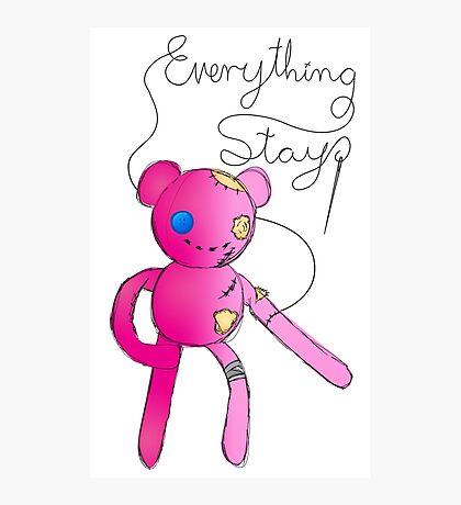 Everything Stays - Hambo Photographic Print