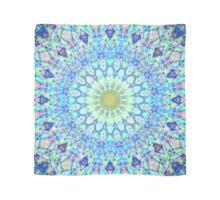 Blue Flower Mandala Scarf
