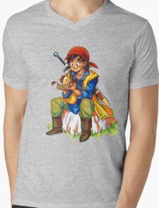 Dragon Quest 8 Mens V-Neck T-Shirt