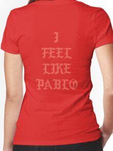 I FEEL LIKE PABLO Women's Fitted V-Neck T-Shirt