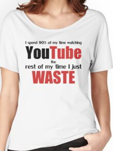 Watching YouTube Women's Relaxed Fit T-Shirt