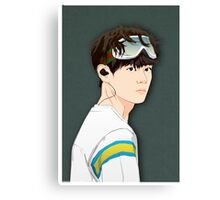 BTS V in Goggles  Canvas Print