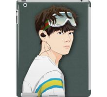 BTS V in Goggles  iPad Case/Skin