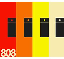TR 808 V2 Photographic Print