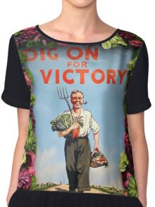 Dig on for Victory Chiffon Top