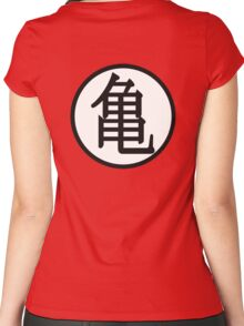 Dragon Ball - Kame Dōgi Women's Fitted Scoop T-Shirt
