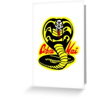 Cobra Kai  Greeting Card