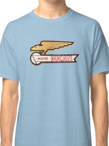 DUCATI VINTAGE LOGO BADGE Classic T-Shirt