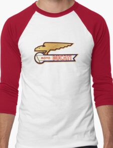 DUCATI VINTAGE LOGO BADGE Men's Baseball ¾ T-Shirt