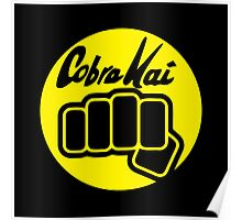 Cobra Kai Punch Poster