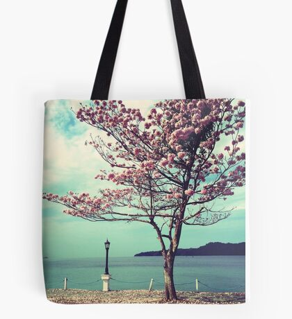 Blooms by the Sea Tote Bag