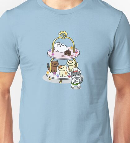 Neko Atsume Party! Unisex T-Shirt