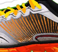 Tiger Shoe Sticker