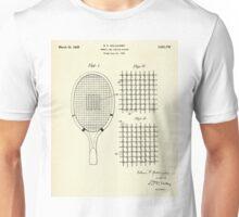 Tennis and Similar Racket-1925 Unisex T-Shirt