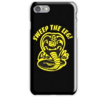 Sweep the leg iPhone Case/Skin