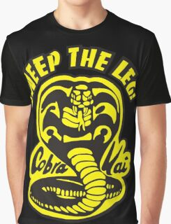 Sweep the leg Graphic T-Shirt