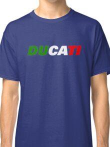 DUCATI ITALIAN FLAG Classic T-Shirt