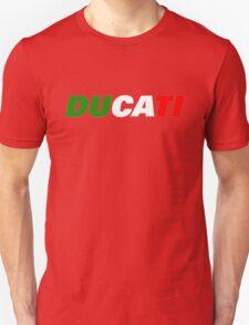 DUCATI ITALIAN FLAG T-Shirt