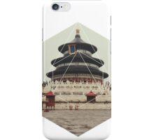 Spiritual Buddha Temple iPhone Case/Skin