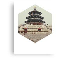 Spiritual Buddha Temple Canvas Print