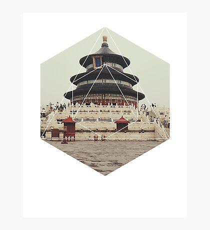 Spiritual Buddha Temple Photographic Print