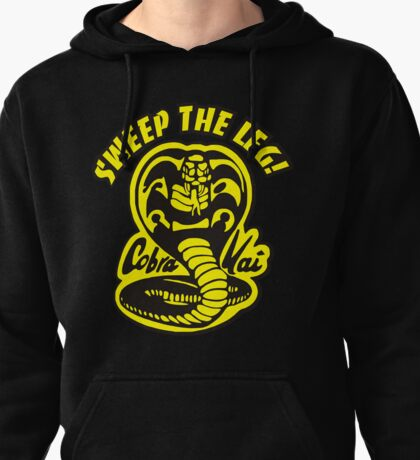 Sweep the leg Pullover Hoodie