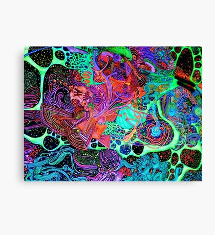 PSYCHEDELIC Color Canvas Print
