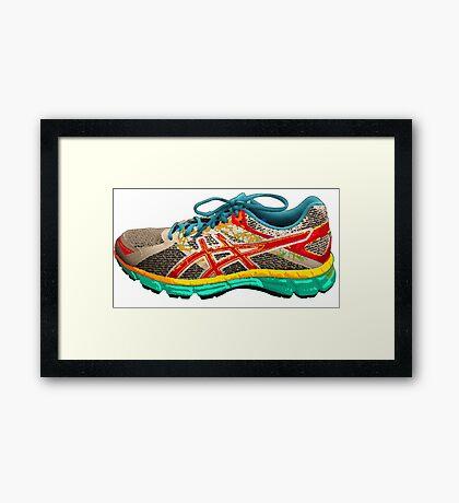 Run For Your Life! Framed Print
