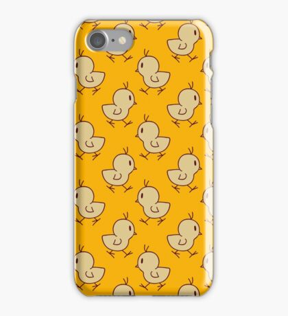 Baby Chick Yellow Pattern iPhone Case/Skin