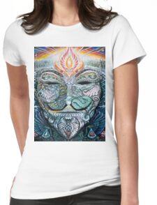 PSYCHEDELIC Anonymous Womens Fitted T-Shirt