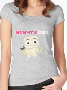 MUMMY´S GIRL Women's Fitted Scoop T-Shirt